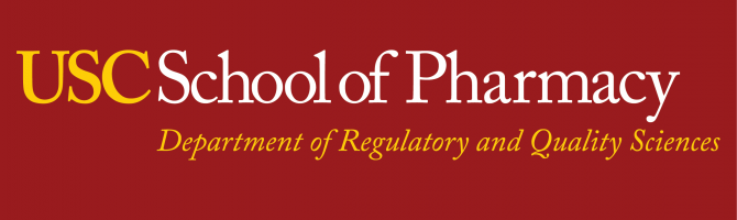 USC Department of Regulatory and Quality Sciences